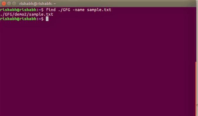 기본적인 리눅스 find 명령어