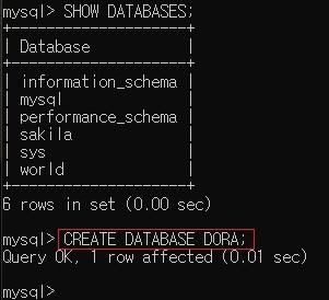 MySQL INSERT , MySQL UPDATE , MySQL DELETE 방법