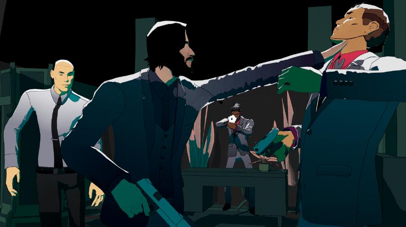 pc 게임 존 윅 헥스 액션 게임 , 전략 게임