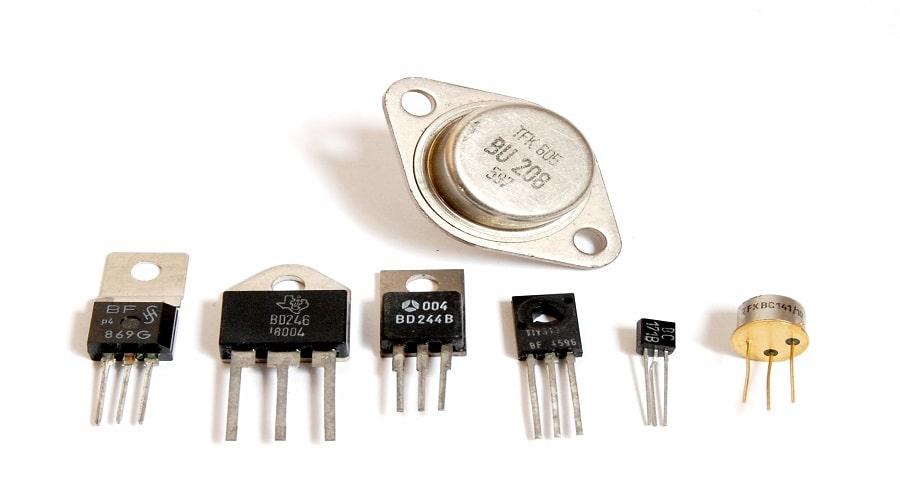 트랜지스터-원리-종류-기호-응용