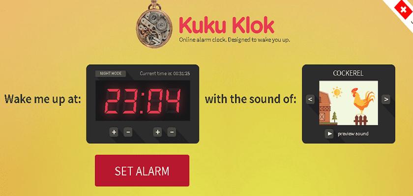 컴퓨터 알람 사이트 kukuklok.com